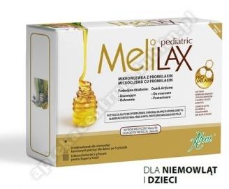 MELILAX PEDIATRIC Mikrowlewka dla dzieci 6szt