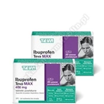 Ibuprofen Teva Max tabl.powl. 0,4g 10tabl.