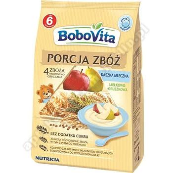 BoboVita Kaszka mlecz-4 zboża jabł-gru
