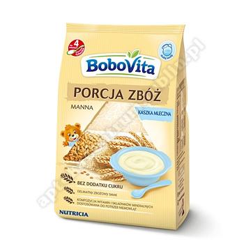 BoboVita PORCJA ZBÓŻ Kaszka mleczna manna 210g