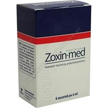 Zoxin-med szamp.leczn. 0,02g/ml 6sasz.a6ml