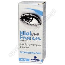 HIALEYE FREE 0,4% krop.do oczu 10 ml