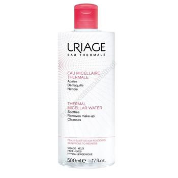 URIAGE Woda micelarna do skóry wrażliwej i naczynkowej 500ml