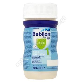 Bebilon 1 z Pronutra Mleko Początkowe płyn 90ml