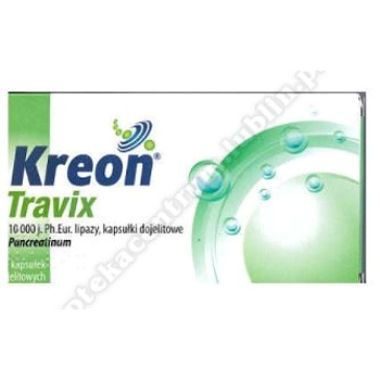 Kreon Travix kaps.dojel. 10000j. 20 kaps