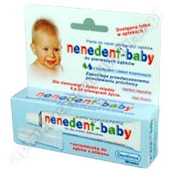 NENEDENT BABY Past.d/zęb. d/dzieci + szczotka