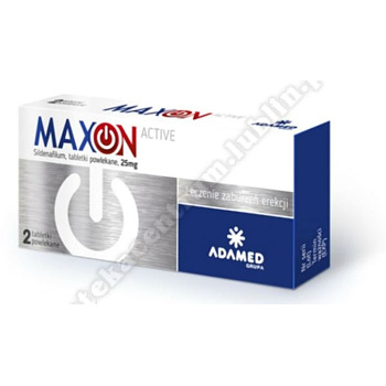 MAXON ACTIVE 0,025 g x 2 tabletki powlekane