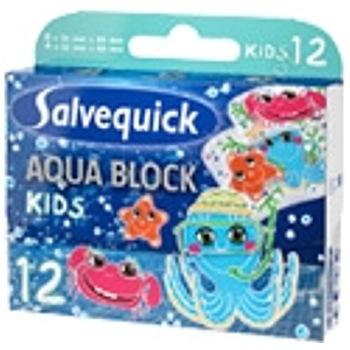 Plast. Salvequick Aqua Block Kids 12 szt 1
