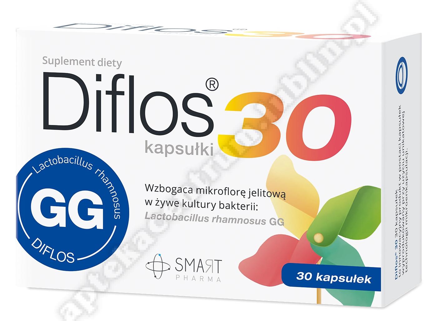 Diflos 30  30 kapsułek