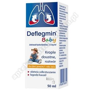 Deflegmin Baby krople doustne 7,5 mg/ml 50 ml
