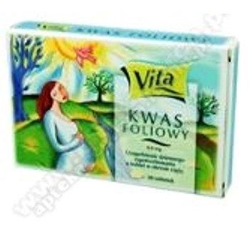 Kwas Foliowy Vita tabletki  0,4 mg 30 szt.