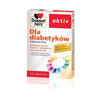 Doppelherz Aktiv d/diabetyków tabl. 30tabl