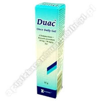 Duac żel (0,01g+0,05g)/g 15 g