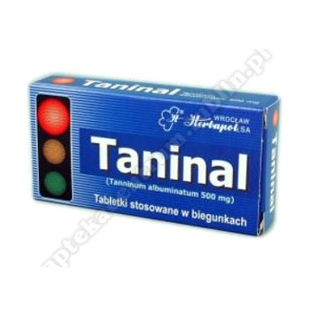 Taninal (Tanninum albuminatum) tabl. 0,5g