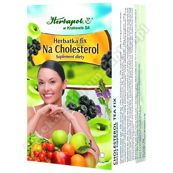 Herbatka Na cholesterol 2 g 20 toreb.