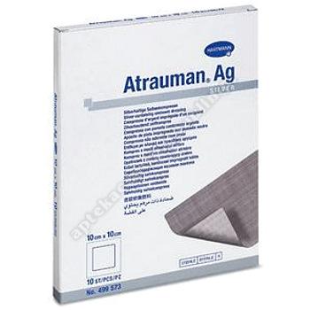 Opatr.Atrauman AG z maścią 10x10cm 1szt.