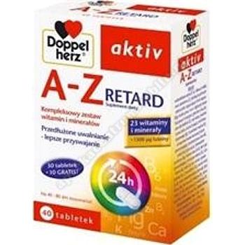 Doppelherz aktiv A-Z RETARD tabl. 40tabl