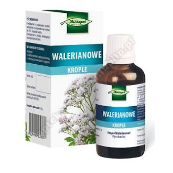 Krople walerianowe krople doustne 38ml(butelka)