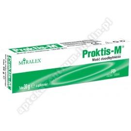 Proktis-M PLUS maść doodbyt. 30 g
