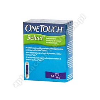 One Touch Select Plus Paski testowe 50pask