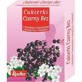 Cukierki REUTTER czarny bez 50 g