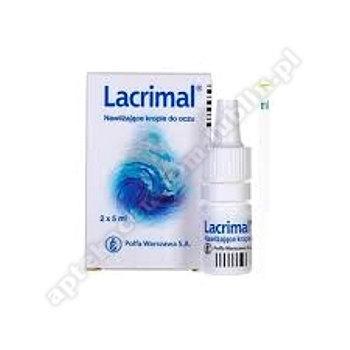 Lacrimal nawilżające krople do oczu 10ml (2 but. po 5ml)