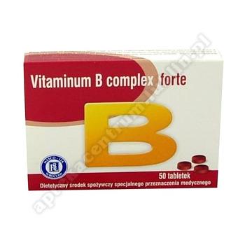 Vitaminum B Complex Forte tabl. 50 tabl.