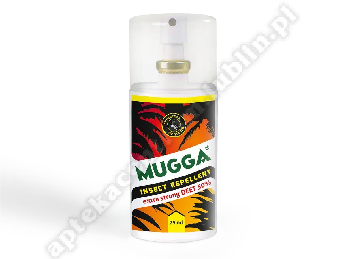 Mugga Spray 50% DEET 75 ml