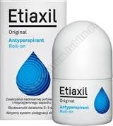 ETIAXIL ORIGINAL Antyperspirant płyn 15ml+Bio-Oil olejek 6ml GRATIS