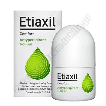 ETIAXIL COMFORT Antyperspirant płyn 15ml +Bio-Oil olejek 6ml GRATIS