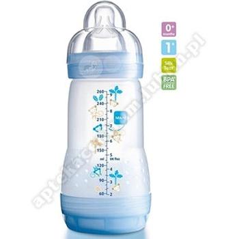 MAM butelka Anti-colic 320 ml+ smoczek silikonowy 0-2 m-ce gratis