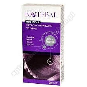 BIOTEBAL Odżywka p/ wypad. włosów 200ml-bez op. karton.