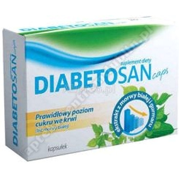 Diabetosan Caps kaps. 60 kaps.+Diabetosan 30 kaps. GRATIS data waż.31.05.2020r