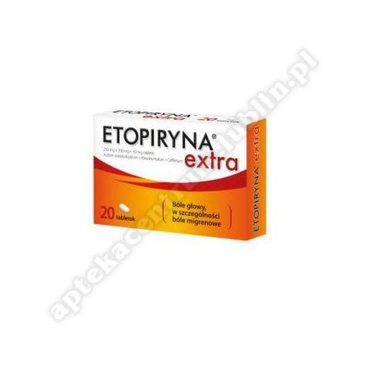 Etopiryna Extra 20 tabletek