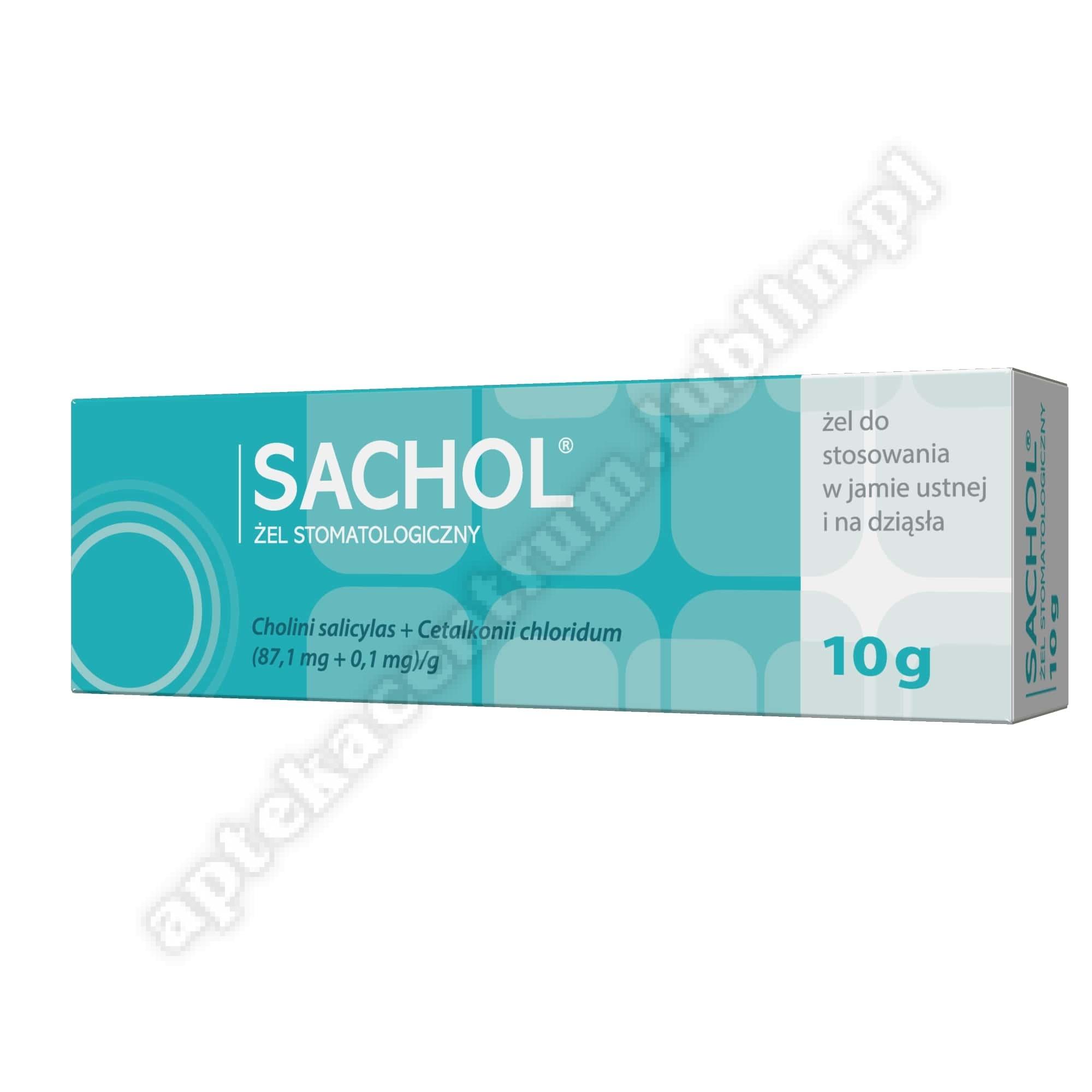Sachol żel dentystyczny 10 g