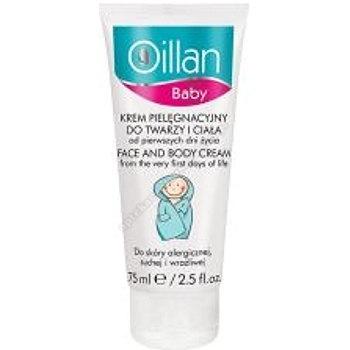 OILLAN Baby Krem pielęgnacyjny do twarzy i ciała 75ml