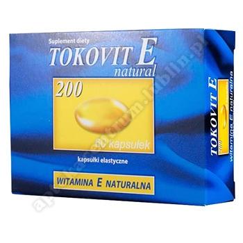 Tokovit E natural 200 kaps. 200j.m. 60kaps