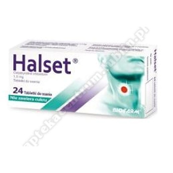 Halset tabletki dossania 1,5mg 24tabl.(4blist.)