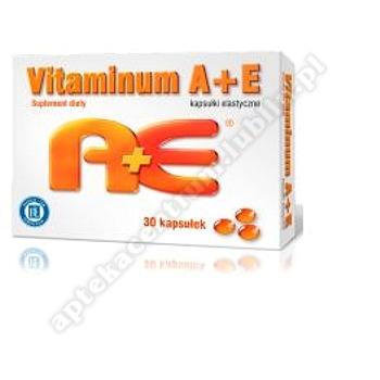 Vitaminum A+E 2500 J.M. A+ 100 MG E 30 kapsułek