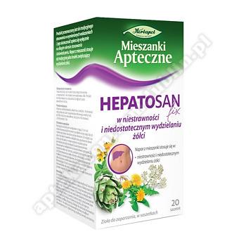 Zioł.fix Hepatosan 2 g 20 sasz.a 2g