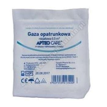 Gaza niejałowa 1/2 m2 APTEO CARE