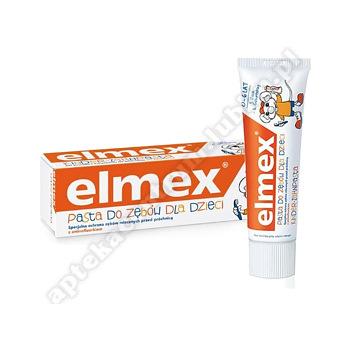 ELMEX Pasta do zębów dla dzieci (0-6 lat)50ml