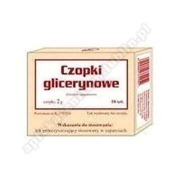 Czopki glicerynowe Gemi 2g 10 czopków(2blist.)