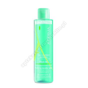 A-DERMA PHYS-AC Woda oczyszczająca micelarna 200ml