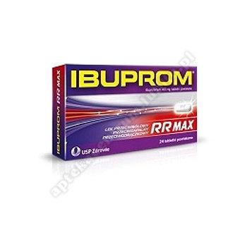 Ibuprom RR tabl.powl. 0,4g 24tabl.