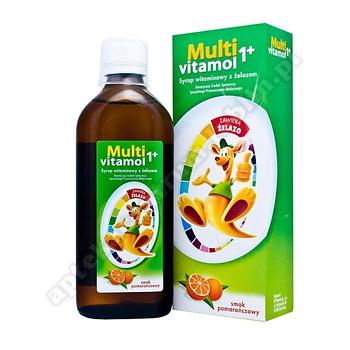 Multivitamol 1+ Syrop witaminowy 500ml