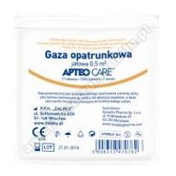 Gaza jałowa APTEO 1/2m2 1szt.