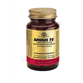 SOLGAR Amino 75 30 kapsułek