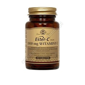 SOLGAR Ester C-Plus witamina C 1000 mg 30 tabletek