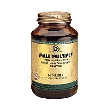 SOLGAR Male Multiple witamin i minerałów dla mężczyzn 60 tabletek